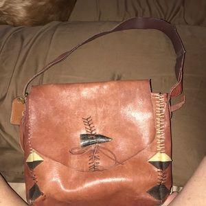 Beautiful maroon handbag